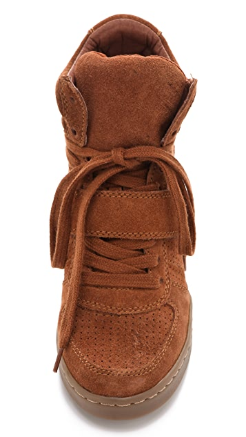 Ash Cool Wedge Sneakers in Suede