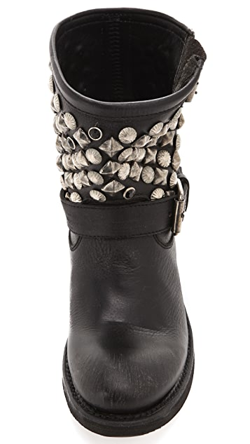 Ash Studded Engineer Boots
