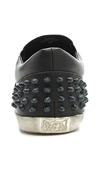 Ash Smart Slip On Sneakers with Studs