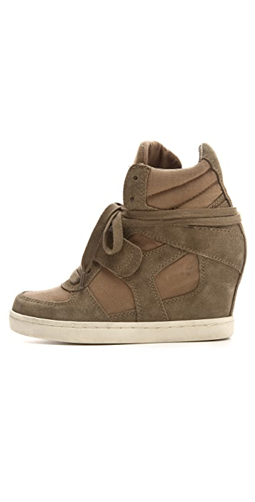 Ash Cool Laceup Wedge Sneakers