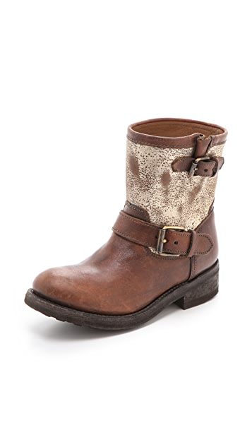 Ash Tears Boots with Buckle