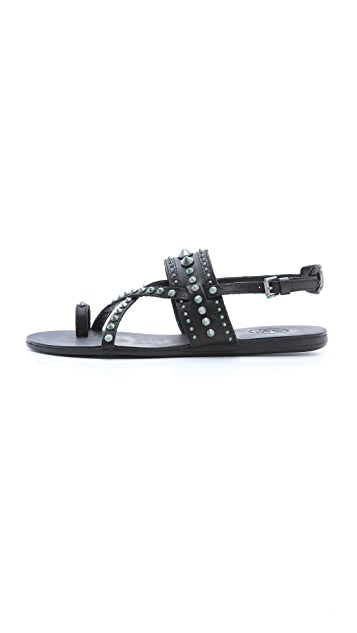 Ash Oman Bis Studded Sandals