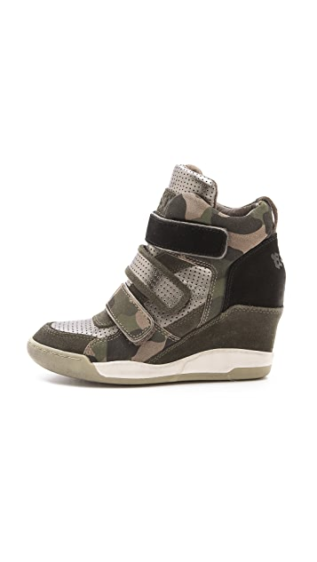 Ash Alex Wedge Sneakers