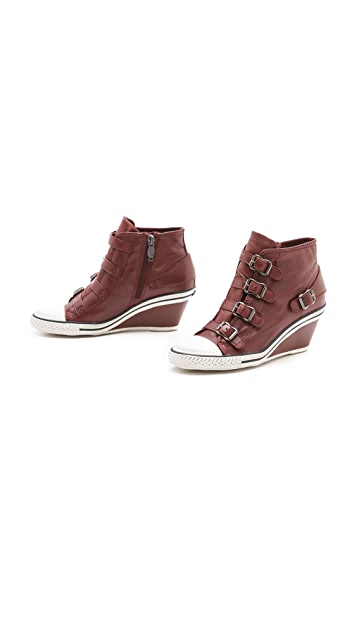 Ash Genial Low Wedge Sneakers