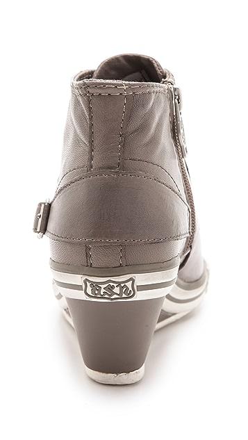 Ash Genial Low Wedge Sneakers