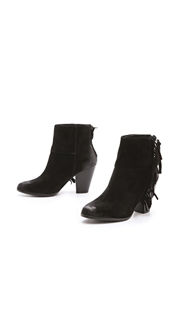 Ash Quick Fringe Booties