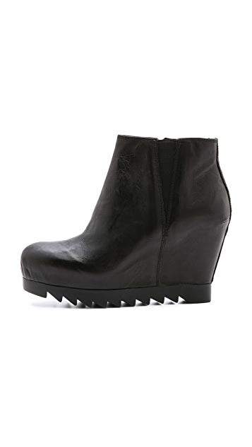 Ash Hello Hidden Wedge Booties
