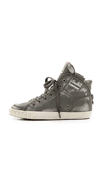 Ash Shake Metallic Sneakers