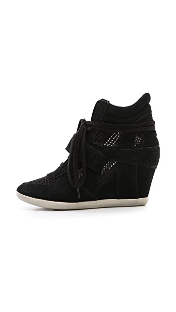 Ash Bowie Mesh Wedge Sneakers