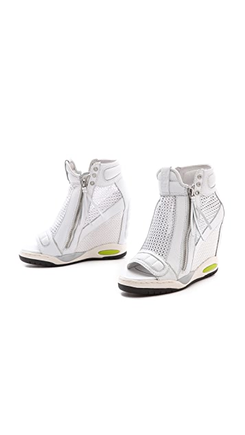 Ash Electric Mesh Open Toe Sneakers