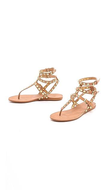 Ash Oasis Studded Sandals