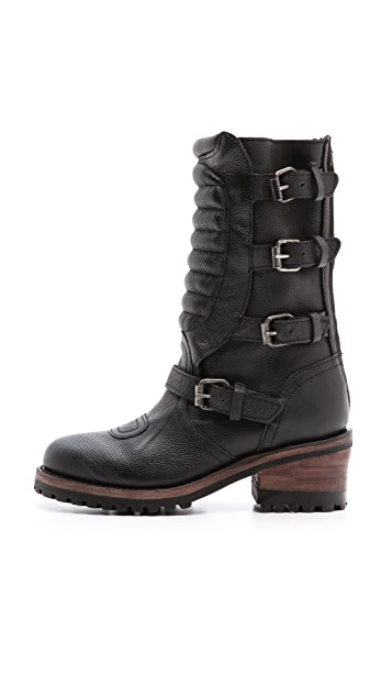 Ash Strike Combat Boots