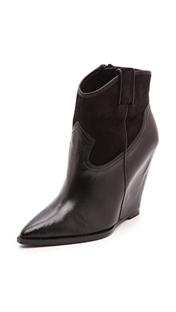 Ash Jude Wedge Booties