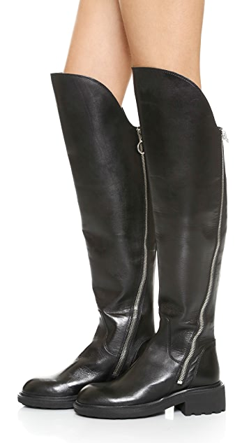 Ash Seven Over the Knee Boots