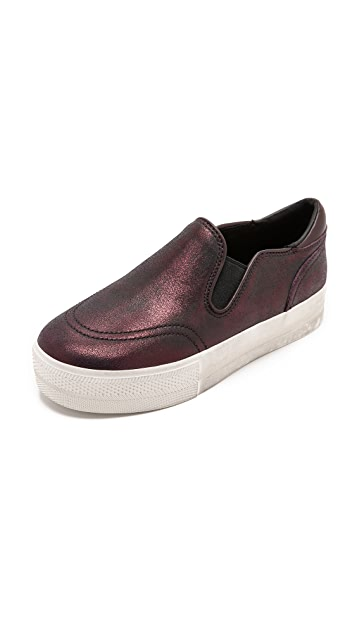 Ash Jungle Metallic Slip On Sneakers