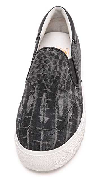 Ash Jam Python Slip On Sneakers