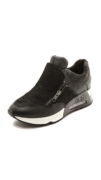 Ash Lenny Zip Jogging Sneakers