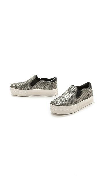 Ash Jungle Slip On Metallic Sneakers