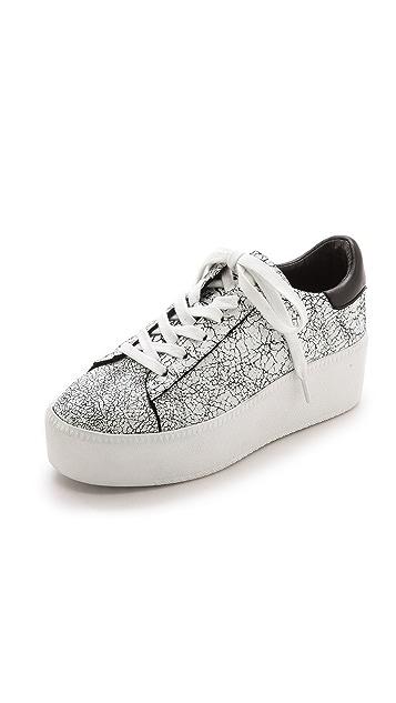 94cbc624e0cb Ash Cult Crackled Sneakers