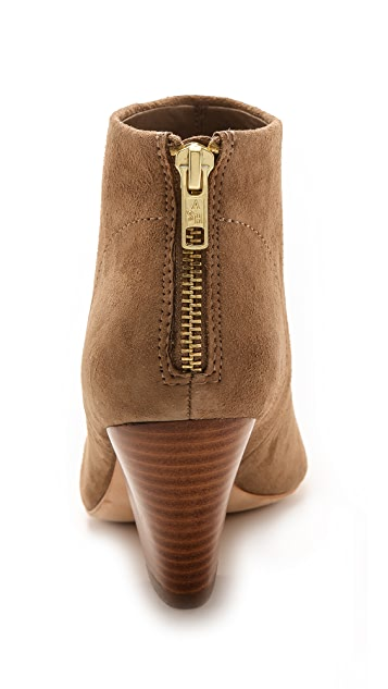Ash Golden Suede Booties