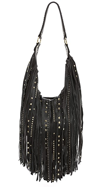 Ash Tyler Fringe Hobo Bag