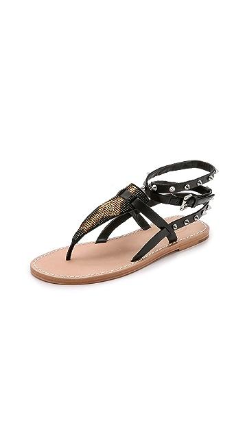 Ash Pam Beaded Sandals