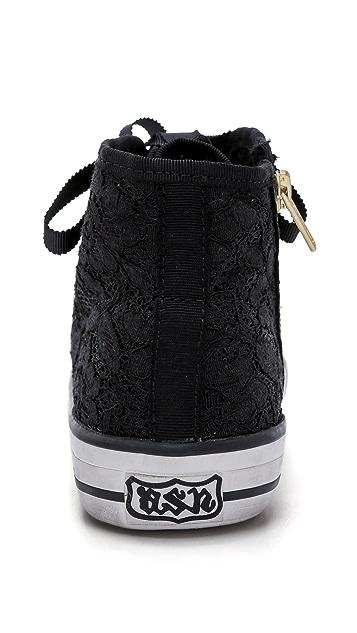 Ash Venus Lace High Top Sneakers
