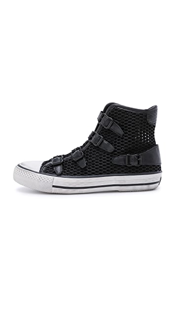 Ash Vanessa Mesh High Top Sneakers
