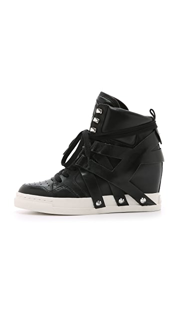 Ash Call Wedge Sneakers