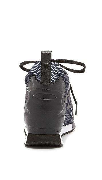 Ash Domino Wedge Sneakers