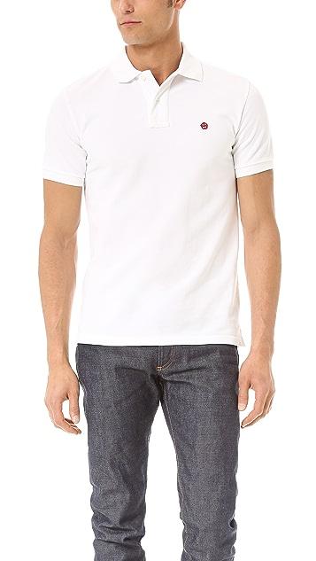 Aspesi Logo Polo Shirt