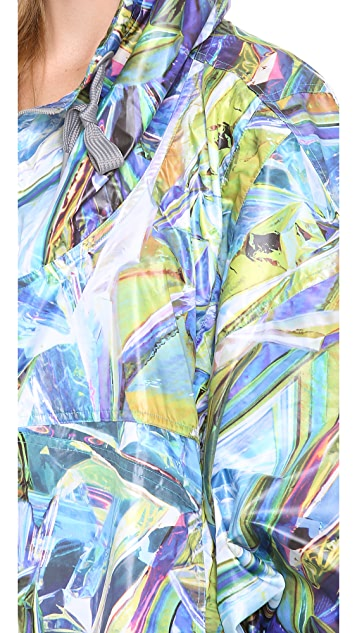 adidas by Stella McCartney Run Print Cape