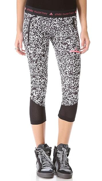 adidas by Stella McCartney 3/4 Running Leggings