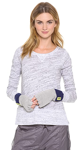 adidas by Stella McCartney Knit Fingerless Gloves