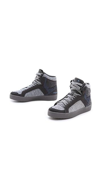 adidas by Stella McCartney Discosura Hiker High Top Sneakers