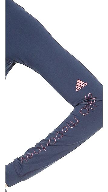 adidas by Stella McCartney Logo Long Sleeve Hoodie
