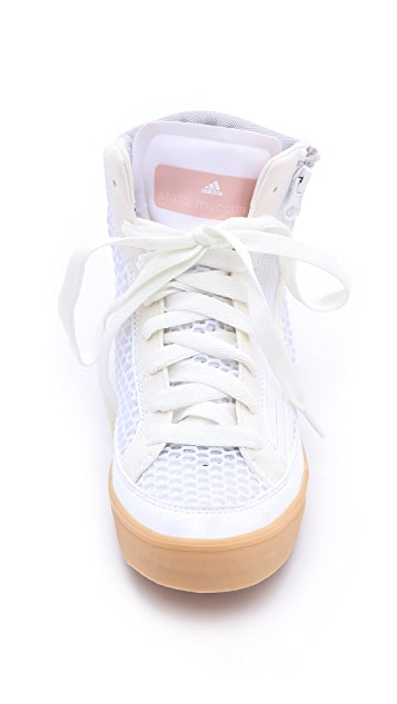adidas by Stella McCartney Stella Casual Mesh High Top Sneakers