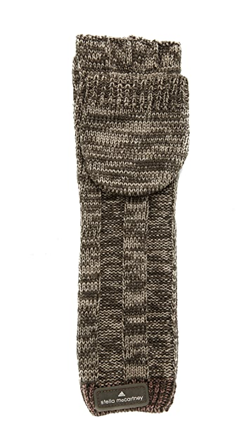 adidas by Stella McCartney Knit Running Gloves
