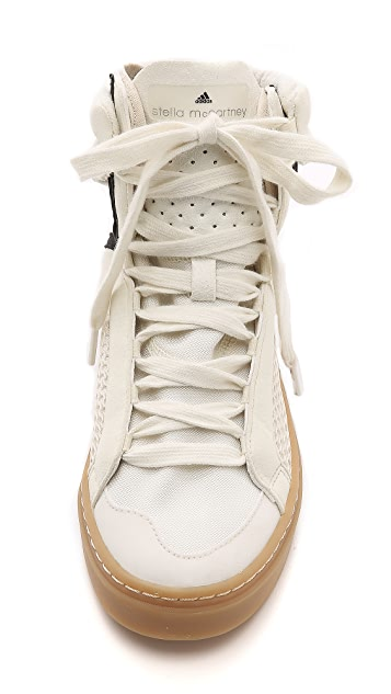 adidas by Stella McCartney Mid Cut High Top Sneakers