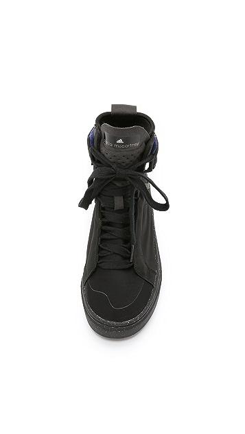 adidas by Stella McCartney Mid Cut High Top Sneakers