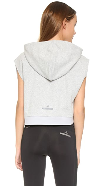 adidas by Stella McCartney Yoga Crop Hoodie