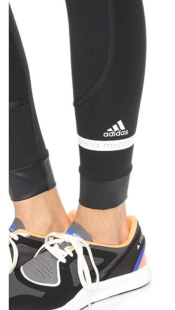 adidas by Stella McCartney The Performance Fold Over Leggings