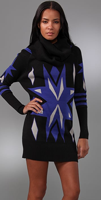 ALICE by Temperley Falcon Sweater Dress