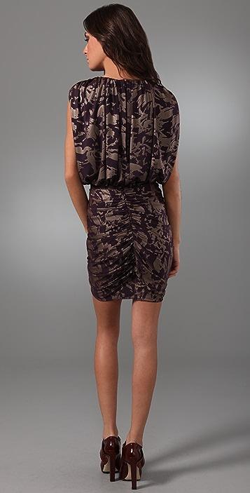 ALICE by Temperley Metallic Mini Atlas Dress