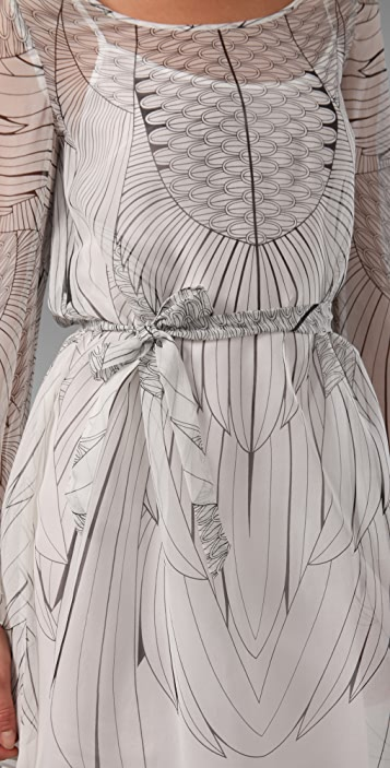 ALICE by Temperley Feather Dress