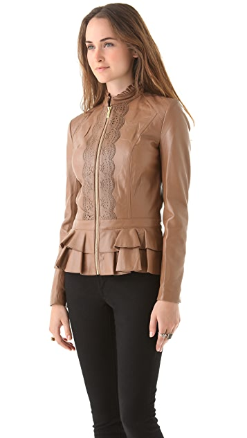 ALICE by Temperley Page Leather Jacket