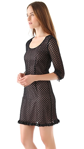 ALICE by Temperley Sleeved Davis Dress