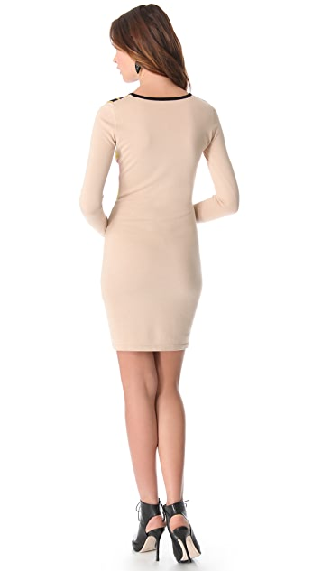 ALICE by Temperley Santos Fitted Knit Dress