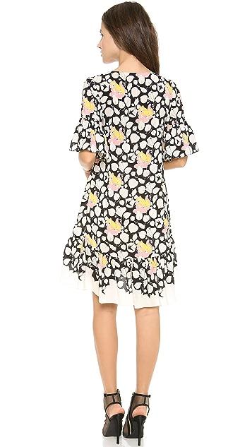 ALICE by Temperley Mini Louis Print Dress