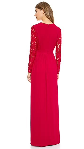 ALICE by Temperley Macey Maxi Dress
